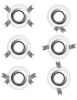 Editable label sticker vector