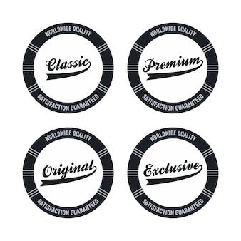 Editable label sticker