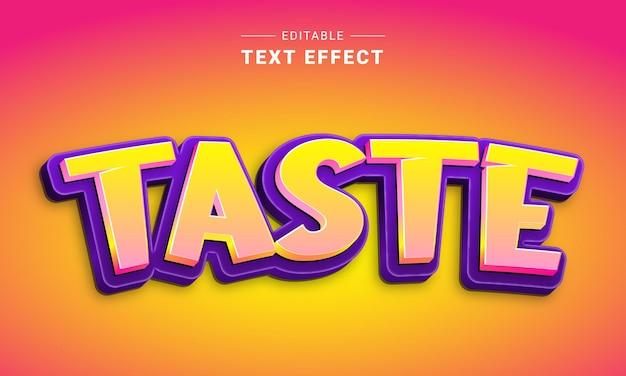 Редактируемый текстовый эффект для иллюстратора