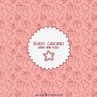 Editable merry christmas card