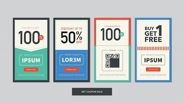 Editable mobile banner for social media post, web and internet ads.