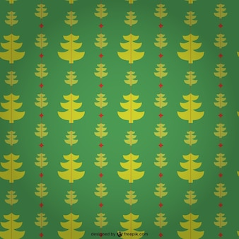 Editable pattern with christmas trees