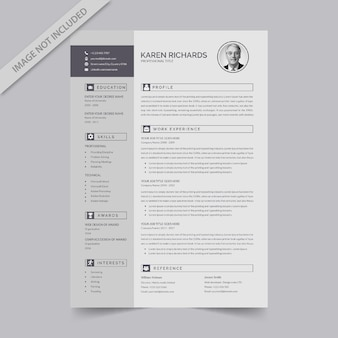 Editable resume format download