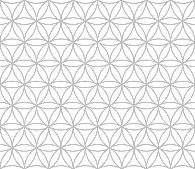Editable seamless geometric pattern tile