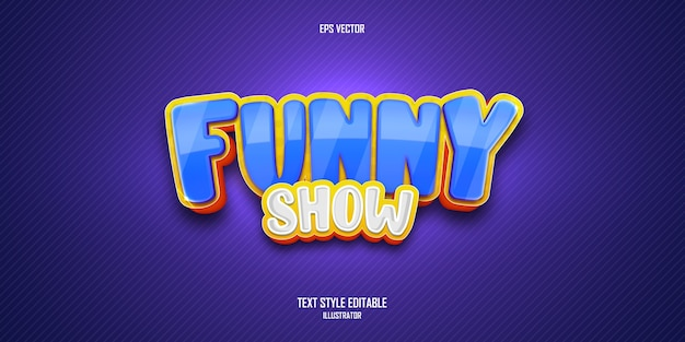 Editable text effect in 3d shape