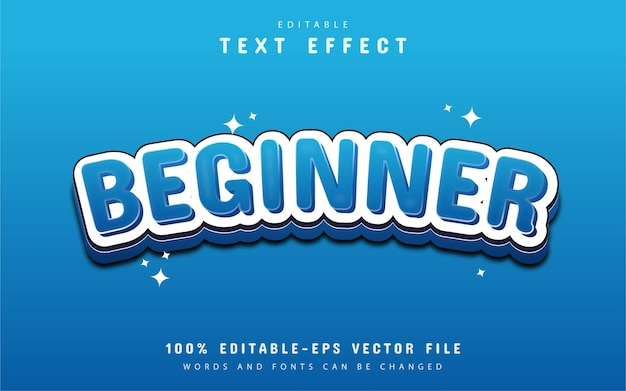 Editable text effect - beginner
