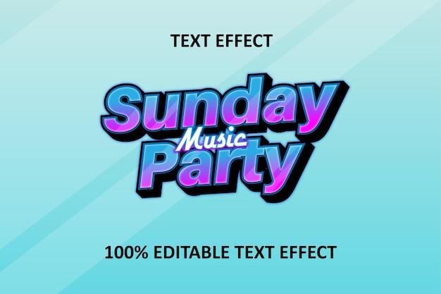 Editable text effect blue pink aqua