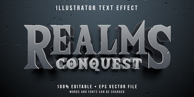 Editable text effect - conquering game style