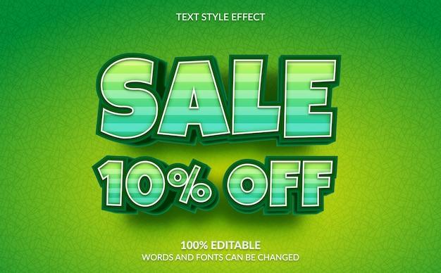 Редактируемый текстовый эффект, скидка 10% на стиль текста