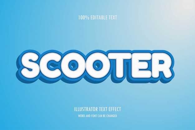 Editable text effect,easy editable font,style and effect