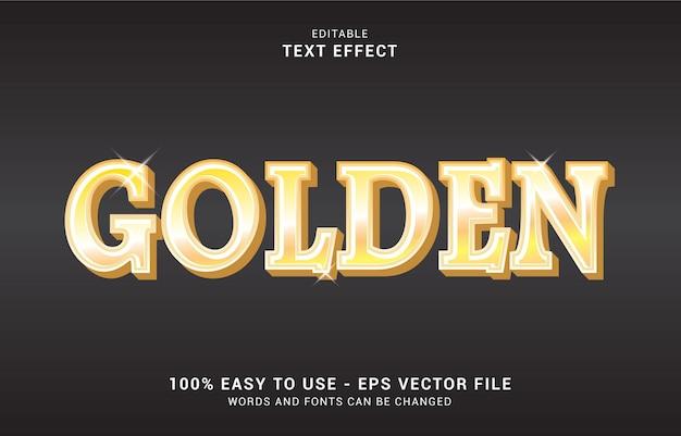편집 가능한 텍스트 효과, 황금 스타일을 사용하여 제목을 만들 수 있습니다.