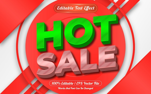 Editable text effect hot sale template style