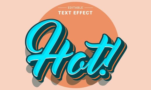 Editable text effect for illustrator