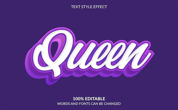 Редактируемый текстовый эффект, изолированные на фиолетовом