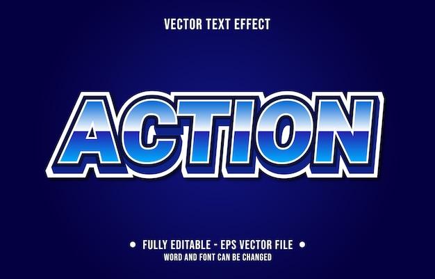 Редактируемый текстовый эффект в современном стиле геймера и спорта