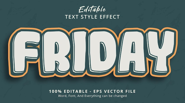 Editable text effect, monday text on red velvet color style effect