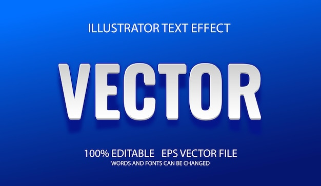 Editable text effect in paper work style