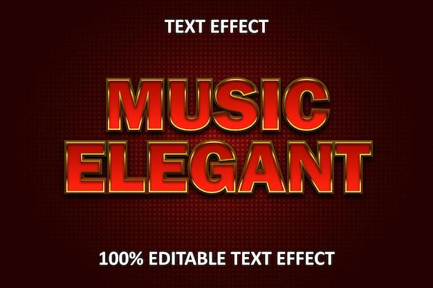 Редактируемый текстовый эффект red elegant