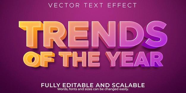 Effetto di testo modificabile, stile di testo del titolo di vendita