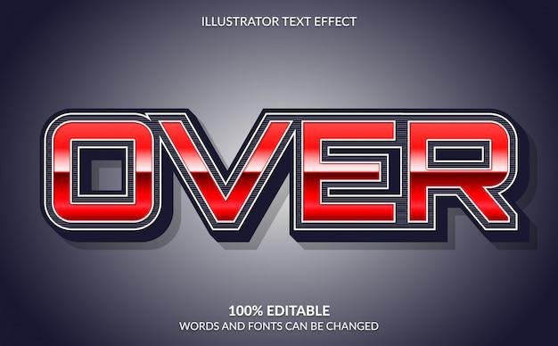 편집 가능한 텍스트 효과, 강력한 대담한 비디오 게임 텍스트 스타일