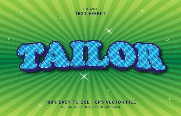 편집 가능한 텍스트 효과, 맞춤 스타일을 사용하여 제목 만들기