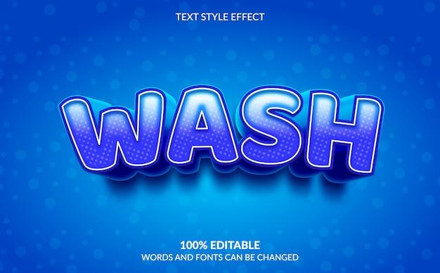 Редактируемый текстовый эффект, стиль размытого текста