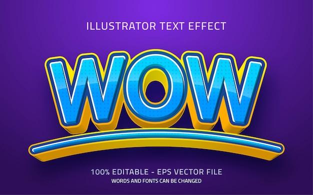 編集可能なテキスト効果、すごいスタイルのイラスト