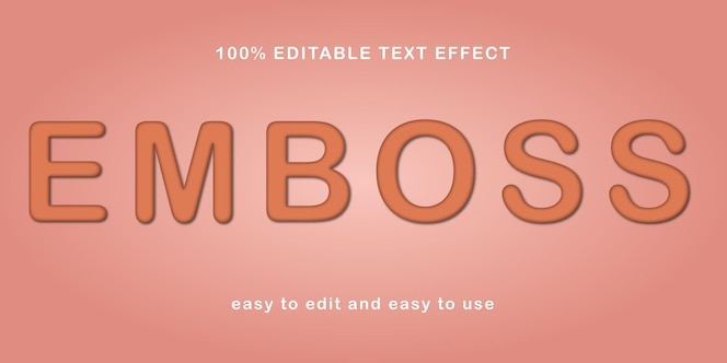 effetti di testo modificabili in stile 3d