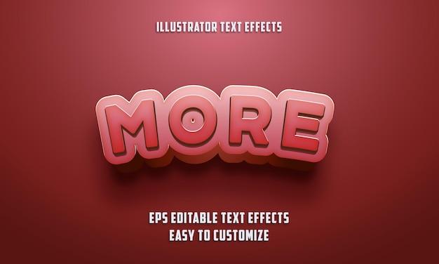 Редактируемый стиль текстовых эффектов