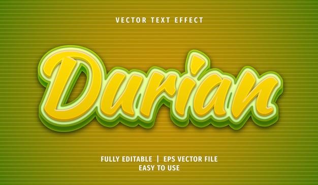Editable text font template Premium Vector