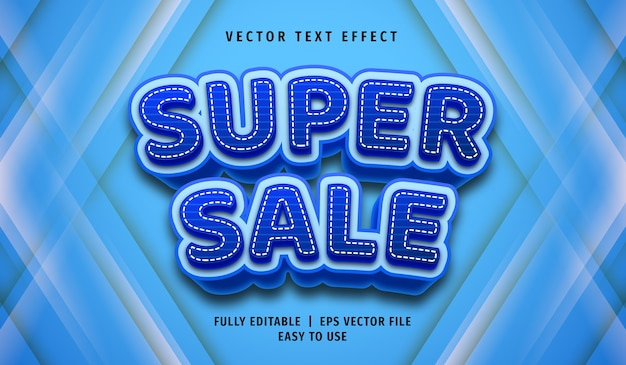 Editable text font template