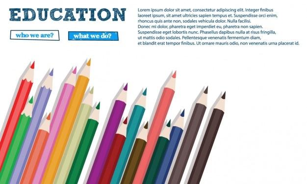 Дизайн образование фона