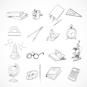 Education icon doodle