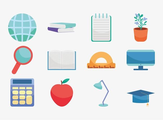 教育アイコンセット