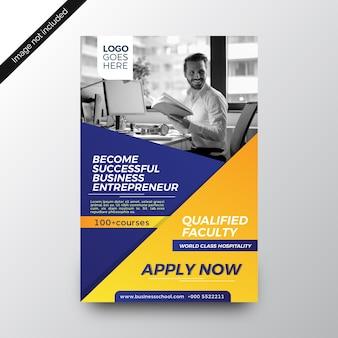 Education institute attractive brochure design