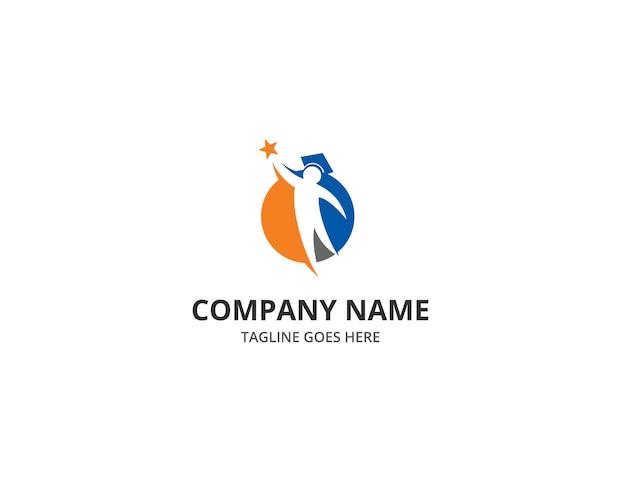 Education logo reaching dreams