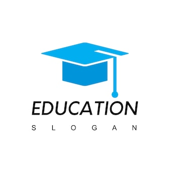 Шаблон логотипа образования