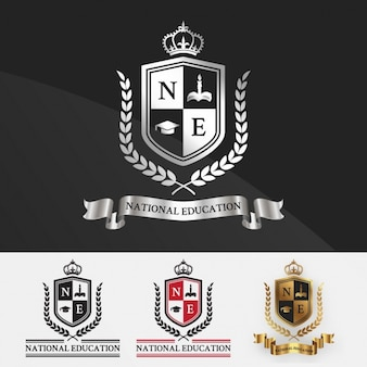Education logo templates