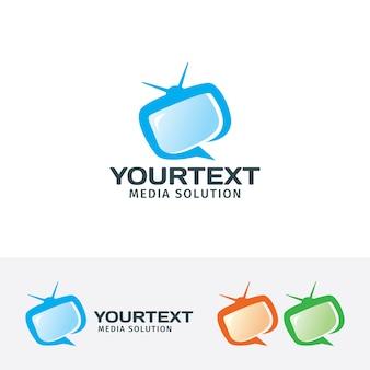 Education media logo template