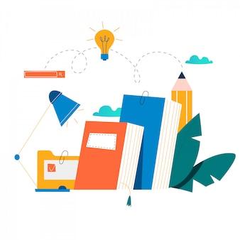 教育、オンライントレーニングコース、チュートリアル、オンラインブック