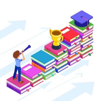 教育またはビジネスの成功