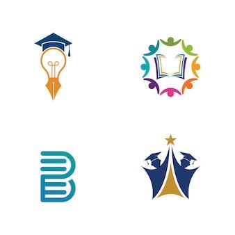 Education template vector icon illustration design