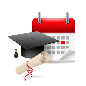 Education time icon illustration