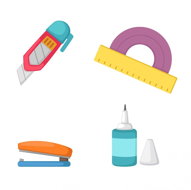 Education tools vector