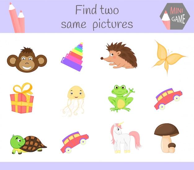 Educational activity for preschool children.