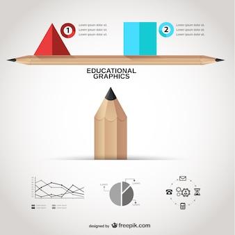 教育グラフィックテンプレート