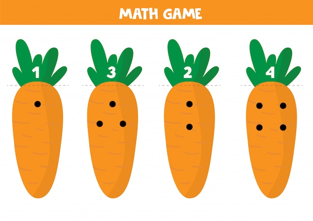 Educational math game for children