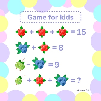 Educational and mathematical game