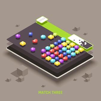 Educative mobile gaming for preschool kids