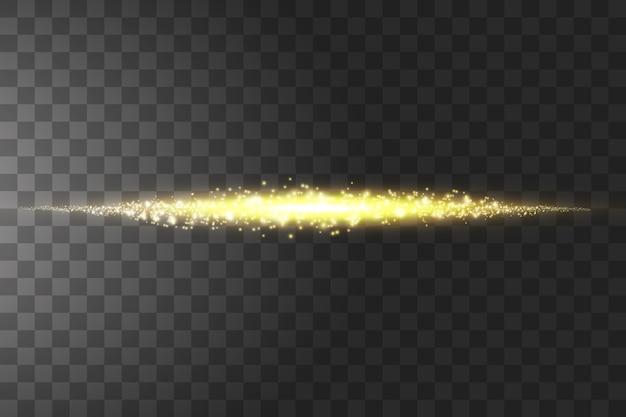 Эффект вспышки линзы взрыва на прозрачном фоне